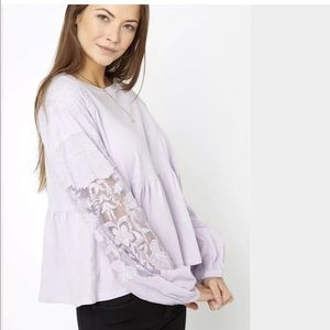 Free People Penny Top in Lilac